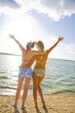 海上的假期 免版税库存图片