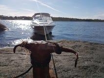海上的夏天 免版税图库摄影