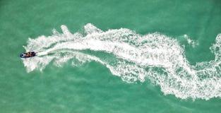 海上的小船 库存图片