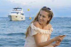 海上的旅游业 图库摄影
