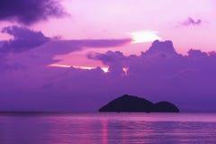 海上的日落 Timelapse云彩 股票视频