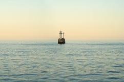 海上的灯塔 免版税库存图片