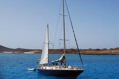 海上的船 免版税库存图片
