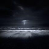 海上的风暴 库存图片