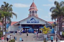 海世界英属黄金海岸昆士兰澳大利亚 免版税库存图片