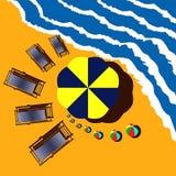 海休息 免版税库存照片
