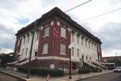 海伦娜西部的海伦娜,阿肯色菲利普斯县法院大楼 库存照片