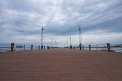 海停泊 免版税库存照片