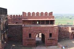 海兰Minar,法泰赫普尔西克里,北方邦 库存照片