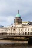 海关都伯林爱尔兰 免版税库存照片