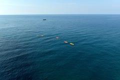 海冒险 库存图片