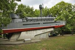 海军博物馆在瓦尔纳 建造者 免版税库存图片