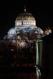 海军大教堂的kronstadt 免版税库存图片