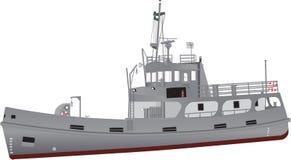 海军招标和支援舰 图库摄影