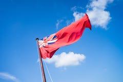 海军旗子 免版税库存照片