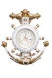 海军时钟 免版税库存照片