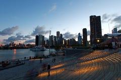 海军码头地平线 库存图片