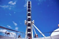 海军码头弗累斯大转轮 库存照片