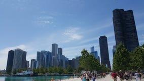 海军码头芝加哥, IL 库存图片