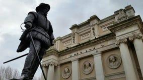 海军纪念品在格林威治,伦敦 免版税图库摄影