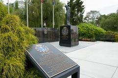 海军纪念纪念碑-伯灵屯-加拿大 库存图片