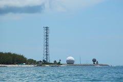 海军航空兵驻地基韦斯特岛在基韦斯特岛,佛罗里达 图库摄影
