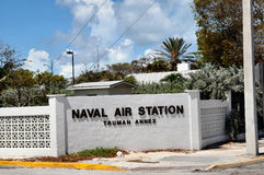 海军航空兵驻地,基韦斯特岛佛罗里达 免版税库存图片