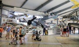 海军航空博物馆家庭招待会,彭萨科拉,佛罗里达 免版税图库摄影