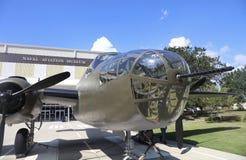 海军航空博物馆,彭萨科拉海军驻地 免版税库存照片
