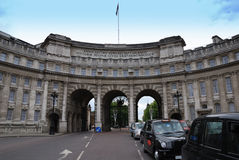 海军部曲拱伦敦 库存图片