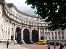 海军部曲拱伦敦 免版税库存图片