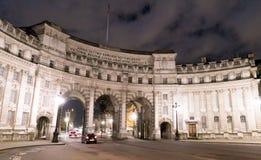 海军部曲拱英国伦敦 免版税库存图片