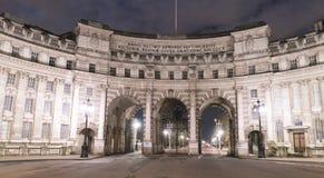 海军部曲拱英国伦敦 库存图片