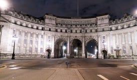 海军部曲拱英国伦敦 免版税库存照片