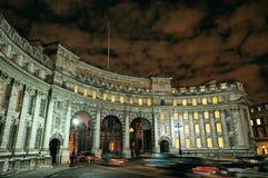海军部曲拱英国欧洲伦敦购物中心英&# 免版税库存图片