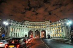 海军部曲拱英国欧洲伦敦购物中心英&# 库存图片