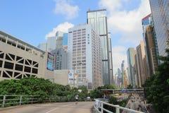 海军部,中央香港2014年10月1日 图库摄影