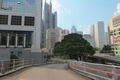 海军部,中央香港2014年10月1日 库存照片