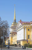 海军部 晴朗的劳动节 彼得斯堡圣徒 免版税库存照片
