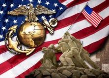 海军陆战队员是最好 库存照片