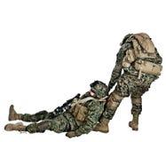 海军陆战队员 库存图片