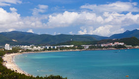 海南晴朗的萨尼亚 免版税库存照片