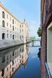 海博物馆在阿姆斯特丹,对荷兰海历史的Netherlandsed 免版税库存图片