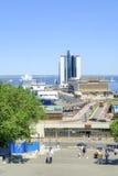 海口和Potemkin台阶的看法 库存照片