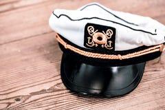 海员帽 库存照片