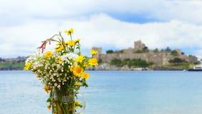 海和城堡 库存图片
