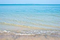 海和天蓝色 免版税库存图片