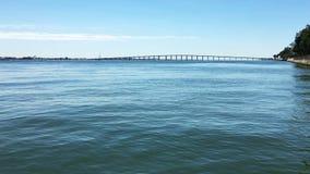 海和桥梁在迈阿密 影视素材