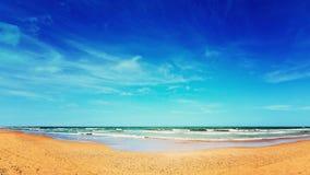 海和沙子 图库摄影