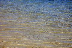 海和沙子 免版税库存照片